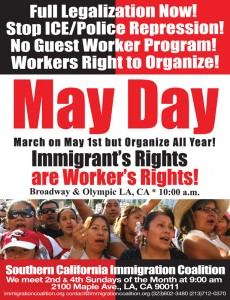 May Day Flier